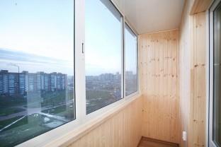 Примеры остекления балконов компанией Ситипром